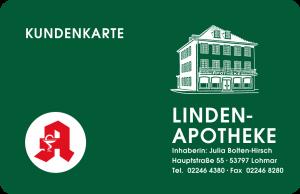 Kundenkarte Linden-Apotheke